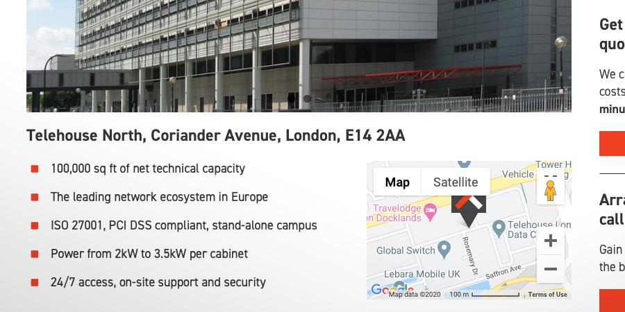 Colo-X UK data centre overview